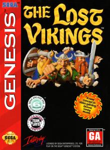 The Lost Vikings sur Sega Genesis pour 65$
