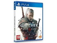 The Witcher 3 Wild Hunt PS4 GAME USED