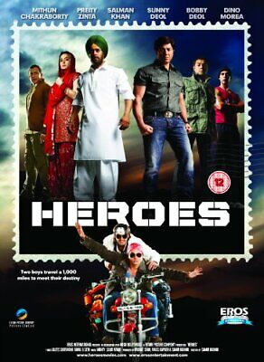 Heroes [DVD] - DVD  86VG The Cheap Fast Free Post
