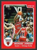 Michael Jordan Rookie Card Reprint
