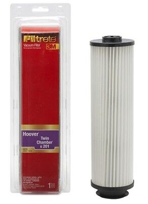 - NEW 3M Filtrete HEPA Vacuum Filter for Hoover Twin Chamber/201/WindTunnel Savvy