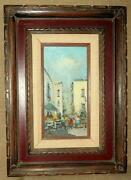 Original Oil Painting Italian