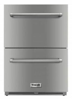 Thor Kitchen TRF2401U 24 inch Indoor/Outdoor Undercounter - Stainless Steel