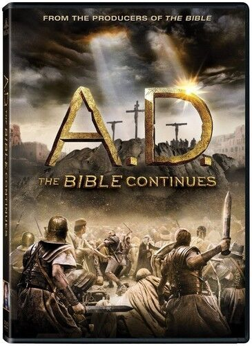 A.D. The Bible Continues - 4 DISC SET (2015, DVD NEW)