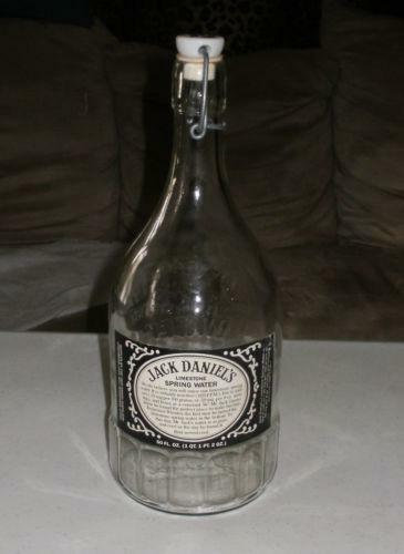 jack daniels water bottle ebay. Black Bedroom Furniture Sets. Home Design Ideas