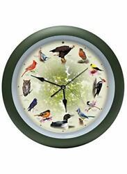 Mark Feldstein Limited Edition 20th Anniversary 8 Singing Bird Wall Clock