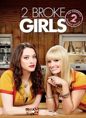 2 BROKE GIRLS TV SERIES COMPLETE SECOND SEASON 2 New Sealed 3 DVD Set