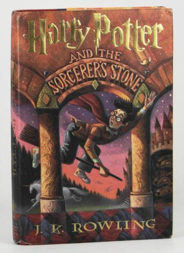 Harry Potter And The Sorcerers Stone First Edition Ebay