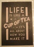 Vintage Tea Sign