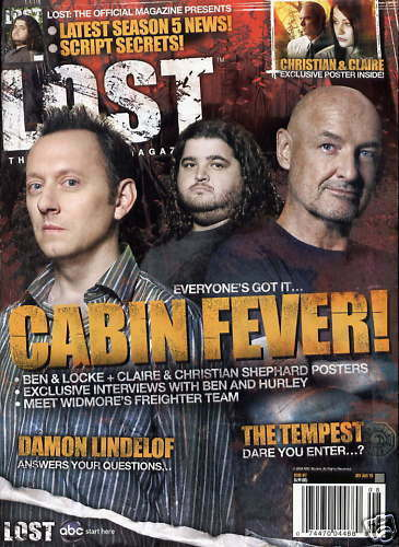 LOST OFFICIAL MAGAZINE - CAST COVER - BEN & LOCKE - CLAIRE & CHRISTIAN #17A