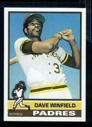 Dave Winfield Rookie