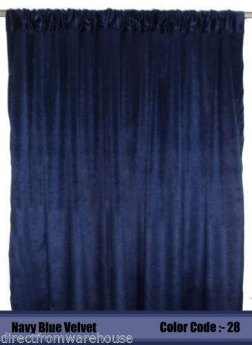 Heavy Velvet Curtains Ebay