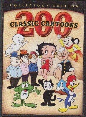 200 Classic Cartoons [New DVD] Boxed Set