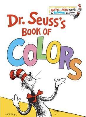 Dr. Seuss's Book of Colors by Dr Seuss: New