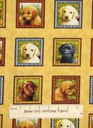 Labrador Retriever Fabric