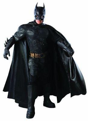 Men's Batman Dark Knight Costume DC Comic Grand Heritage Large Collector * NEW * - Collector Batman Costume