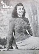Vintage Patons Knitting Books