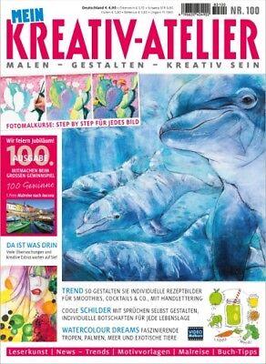 Mein Kreativ Atelier 100/2018 Wie Feiern! - Rezeptbilder Schilder Tiere Meer Tro