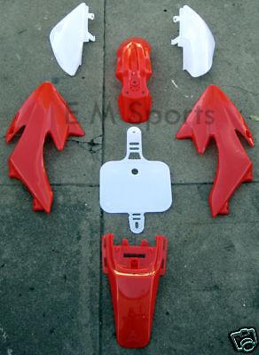 Dirt Pit Bike Fairing Body Plastic 50cc 70cc 110cc Apollo Orion AGB-21A Parts RD