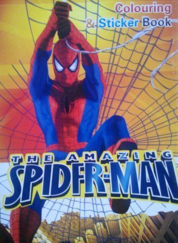 Spiderman Colouring Book | eBay