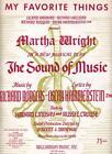 Sound of Music Sheet Music
