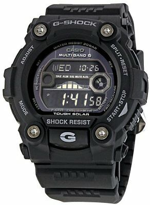 Casio G-Shock G-Rescue GW7900B-1 Solar Atomic Tide Graph Moon Data Watch for sale  Orlando