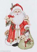 Heirloom Santas Cross Stitch