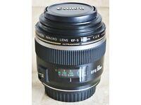 Canon 60mm 2.8 EF-S MACRO lens