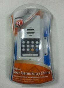 WIRELESS DOOR ALARM AND ENTRY CHIME (NEW IN BOX)