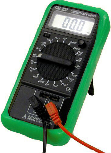 Sinometer CM200 Professional 10-range Capacitance Meter