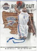 Russell Westbrook Autograph