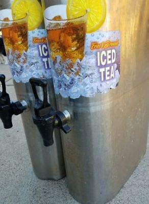 Bunn Commercial Restaurant Tdo 3.5 Iced Tea Dispenser Coffee Lot Of Two
