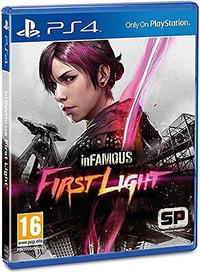 Infamous  First Light  Playstation 4 Ps4  Region Free  Exclusive Sequel  New
