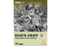 Dads Army Series 1 to 5 DVD set - Unopened