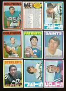 1972 Topps Football Set