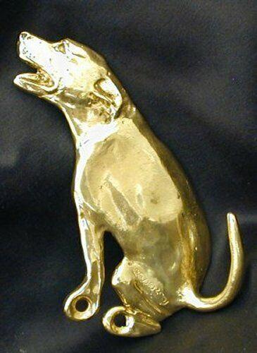 AMERICAN PIT BULL TERRIER  Hook in Bronze