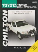 Chilton Repair Manual Toyota