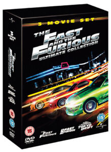 The Fast and the Furious Ultimate Collection DVD (2006) Paul Walker