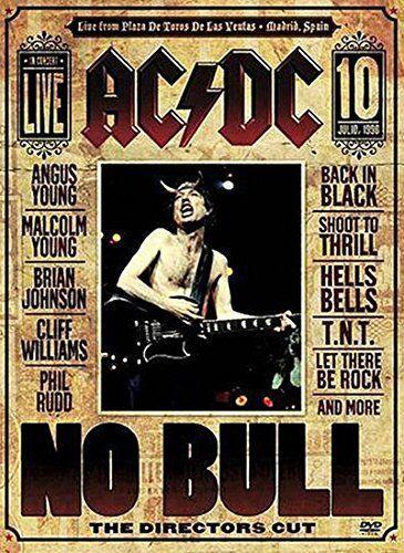 AC/DC - NO BULL: THE DIRECTOR'S CUT DVD (2008)