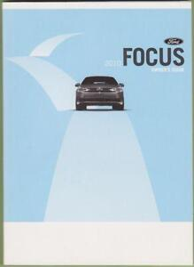 Ford Focus Owners Manuals