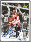 Michael Jordan Autographed Basketball Card