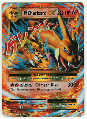 Mega Charizard EX 13/108 XY Evolutions Pokemon Card Near Mint