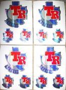 Texas Rangers Sticker