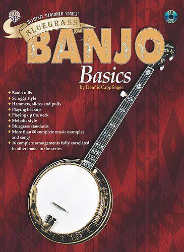 Ultimate Beginner Bluegrass Banjo Basics Learn to Play Beginner Music Book