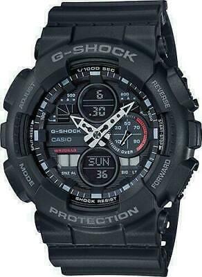 Casio GA-140-1A1 G-Shock Black Dial Resin Men's Watch