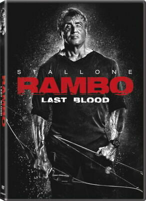 Rambo: Last Blood - DVD - Sylvester Stallone  BRAND NEW - *** FREE SHIPPING ***