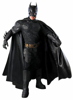 BATMAN Grand Heritage Mens Halloween Theater Costumes Dark Knight Collector Suit (Batman Suit)