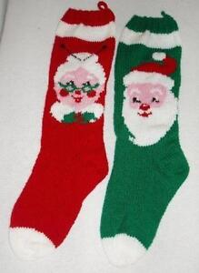 Knit Christmas Stocking | eBay