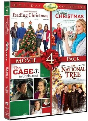 HALLMARK CHANNEL HOLIDAY COLLECTION MOVIE 4 PACK New Sealed DVD