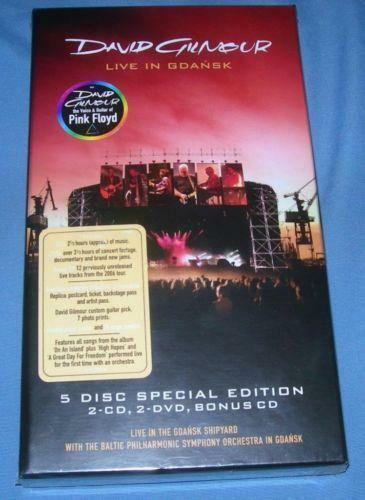 david gilmour live in gdansk ebay. Black Bedroom Furniture Sets. Home Design Ideas